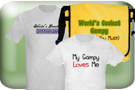 Gampy Gifts and T-Shirts