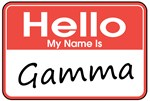 Hello, My name is Gamma