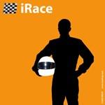 iRace Orange Race Car Driver