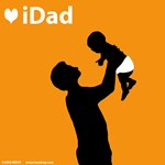 iDad Orange Father and Baby
