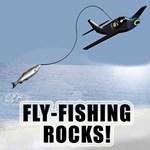 Humorous fly fishing shirts, sweatshirts, t-shirts
