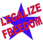Legalize Freedom Tshirts