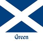 Green St. Andrew's Flag