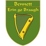 Bennett 1798 Harp Shield