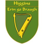 Higgins 1798 Harp Shield