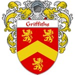 Griffiths Coat of Arms (Mantled)