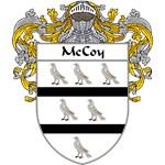 McCoy Coat of Arms (Mantled)