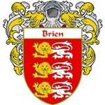 Brien Coat of Arms (Mantled)