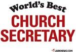 World's Best Church Secretary