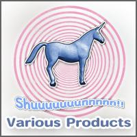 Shuuuunnn!  Blue unicorn!