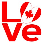 Red Canadian LOVE