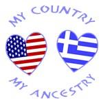 Greece USA Country Ancestry