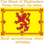 Scottish Blood and Whisky Lion Rampant