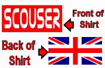 Scouser in Red & Union Jack