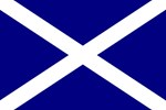 Scottish Flag Magnets, Buttons & Stickers,