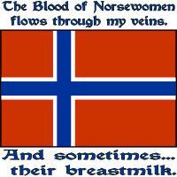 Norsewomen Blood & Breastmilk