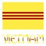 S. Vietnam Flag and Name