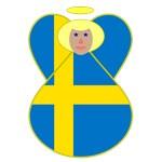 Swedish Flag Angels