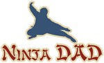 Vintage Ninja Dad Father's Day T-shirts & Gifts