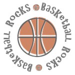 Basketball Rocks T-shirts Gifts