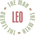 Leo the man the myth the legend T-shirts Gifts
