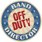 Off Duty Band Director T-shirts Gifts