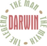 Darwin the man the myth the legend T-shirts Gifts