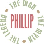 Phillip the man the myth the legend T-shirts Gifts