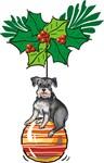 Schnauzer on Ornament