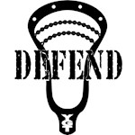 Lacrosse Defend Head Black