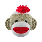 Sock Monkey Face