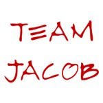 Team Jacob in Blood Red