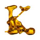 Blown Gold K