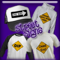 Street Sign T-shirts and Gifts