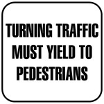 Turning Traffic Sign T-shirts