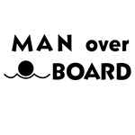 Man Over Board T-shirts and Gifts