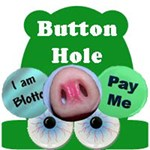 Uncle Frog's Button Hole for Funny Buttons