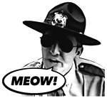 Super MEOW! State Trooper Funny Film Tee