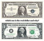 WHICH IS THE REAL DOLLAR AND WHY?