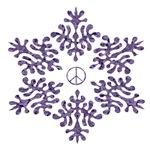 Snow Peace - Mauve