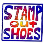 Stamp Out Shoes - Bold