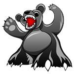 Cartoon Black Bear