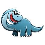 Cartoon Brontosaurus