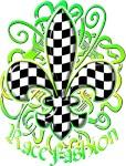 Fleur de lis Racing Design 3