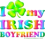 I love (clover) My Irish Boyfriend (rainbow)