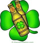 Beer Bottles and Clover design 1