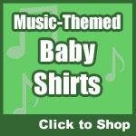 Music Baby Shirts