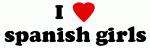 I Love spanish girls