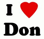 I Love Don