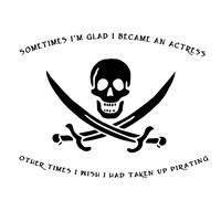 Pirating Actress